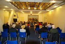assemblé générale salle de l'hippodrome de Paris-Vincennes