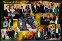 FEMME DE L'ANNÉE 2008