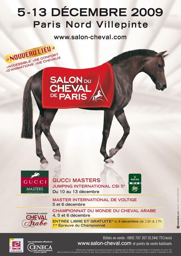 Salon du cheval  du 5 au 13 décembre 2009 / Paris Nord Villepinte