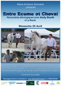 """""""Entre Ecume et Cheval"""", journée éthologique, dimanche 25 avril"""