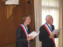 Célébration de sept mariages à la mairie de Lamorlaye !