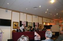 Photos du débat « En forme pour vivre sa Passion »