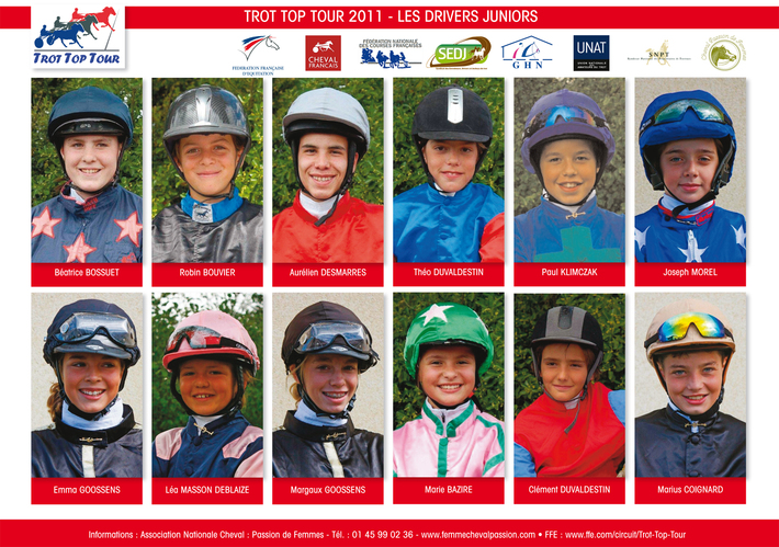 LES DRIVERS JUNIORS TROT TOP TOUR