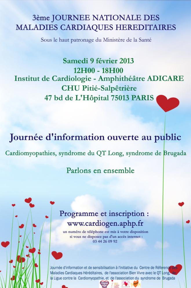 3ème Journée Nationale des Maladies Cardiaques Héréditaires