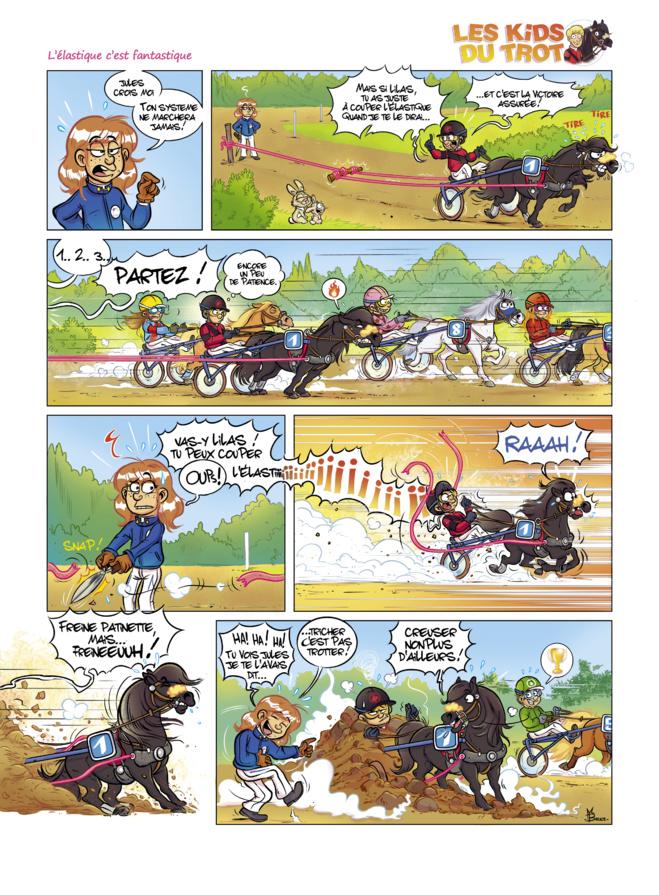 La Bande dessinée, Les Kids du Trot dans la hotte du Père Noël, pourquoi pas ?