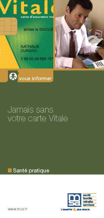 Informations MSA