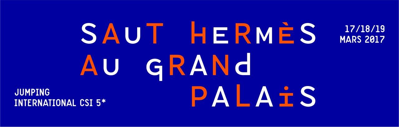 Hermès organise la 8ème édition du Saut Hermès au Grand Palais  avec, pour la première fois, une nocturne le samedi 18 mars 2017