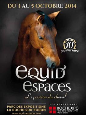 Salon du cheval Equid'Espaces u 3 au 5 octobre 2014
