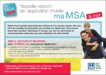 "L'application mobile ""ma MSA & moi"" évolue !"