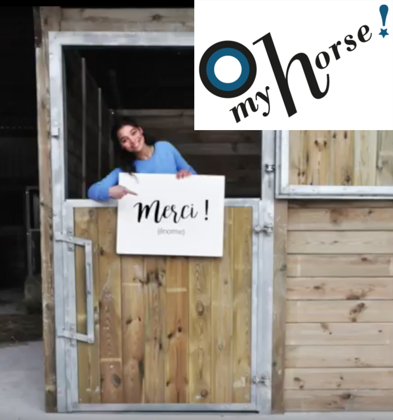 "Soutenez l'initiative ""Oh my Horse"""